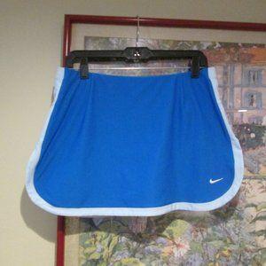 Nike Blue Running Tennis Skirt Shorts Skort